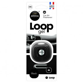 Ароматизатор Aroma Car Loop Gel Black