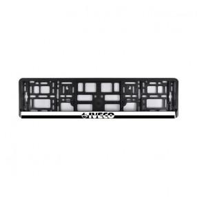 Рамка номера CarLife для IVECO черный пластик (NH521)