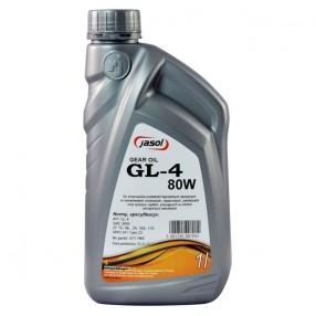 Трансмиссионное масло Jasol GL-4 80W-90 1 литр 27101987001
