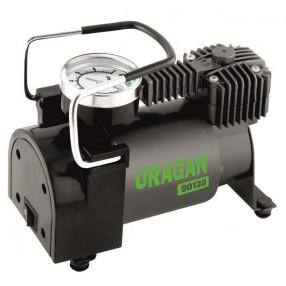 Автомобильный компрессор Uragan однопоршневой 37 л/мин 90130