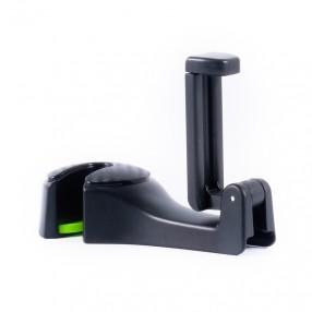 Автодержатель для телефона 2 в 1 с крючком BELAUTO захват 55-95 мм на подголовник (DU28)