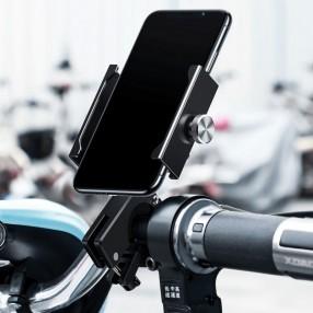 Держатель телефона на мотоцикл или велосипед Baseus Knight Motorcycle Black (CRJBZ-01)