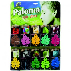 Ароматизаторы Paloma Gold дисплей 60 шт и 14 ароматов (PGD01)