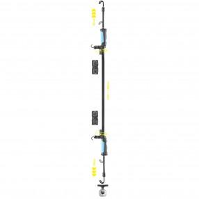 Лампа инсп. проф. Brevia LED 120-190см. 40SMD, 1000lm, 4000mAh