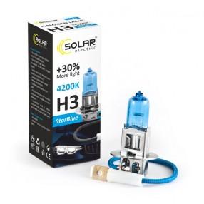 Галогеновая лампа Solar H3 12V 55W PK22s StarBlue 4200K (1243)