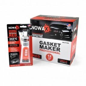 Герметик прокладок высокотемпературный NOWAX (NX37309) 85 г (+343⁰C) Красный