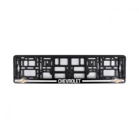 Рамка номера CarLife для Chevrolet черный пластик (NH352)