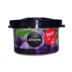 Ароматизатор Aroma Car Organic BLACK GRAPES Черный виноград (92991)