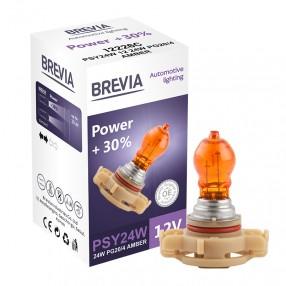 Brevia PSY24W 12V 24W PG20/4 AMBER Power +30% CP
