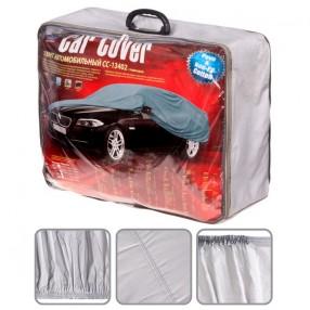 Тент автомобильный размера XL серый с подкладкой PEVA+Non PP Cotton CC13402-XL  (3)