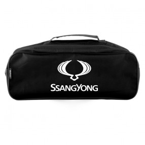 Сумка-органайзер в багажник черная полиэстер BELTEX SsangYong (SU53)