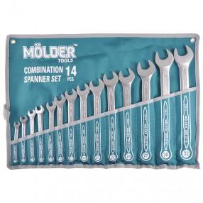 Набор ключей комбинированных MOLDER CR-V 8-32 мм 14 шт (MT58114)