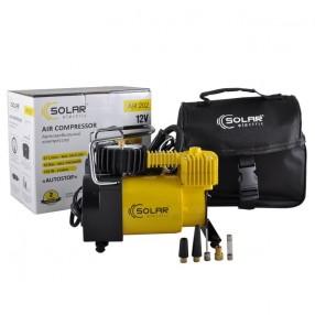 Автомобильный компрессор Solar 37 л/мин c автостопом AR202