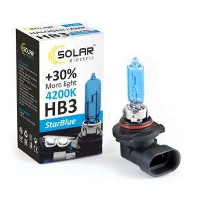 Галогеновая лампа Solar HB3 12V 65W P20d StarBlue 4200K (1225)