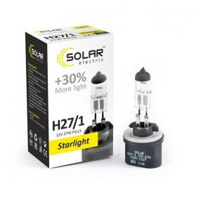 Галогеновая лампа Solar H27/1 12V 27W PG13 Starlight +30% (1227)