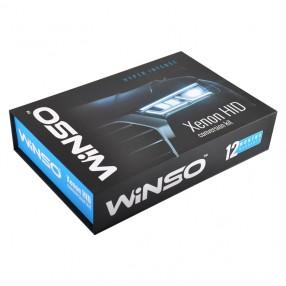 Комплект ксенона WINSO H3 6000K 35W Slim Ballast (743600)