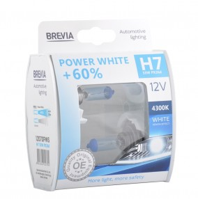 H7 12V Power White Set 2шт