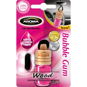 Ароматизатор Aroma Car Wood Bubble Gum