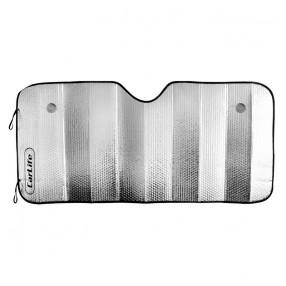 Солнцезащитная фольгированная шторка 140x70 см CarLife (SS145)