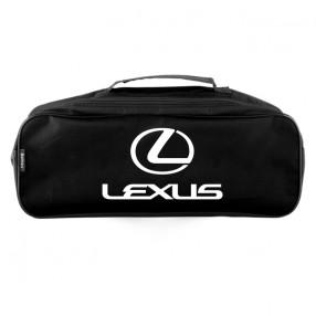 Сумка-органайзер в багажник черная полиэстер BELTEX Lexus (SU43)