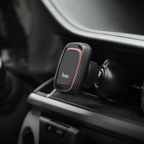 Автодержатель для телефона Hoco Lotto Series Magnetic Air Vent черный (CA23)