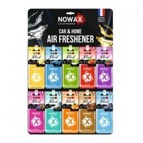 Планшет ароматизаторов на зеркало NOWAX X Card MIX №1 50 шт (NX07544)