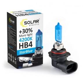 Галогеновая лампа Solar HB4 12V 55W P22d StarBlue 4200K (1226)