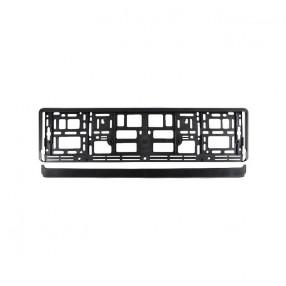Рамка номера CarLife для Audi черный пластик (NH214)