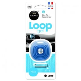 Ароматизатор Aroma Car Loop Gel Aqua Аква