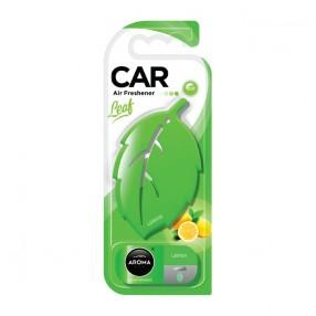 Ароматизатор на зеркало Aroma Car Leaf 3D Lemon Лимон (83128)