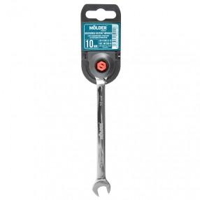 Ключ комбинированный с трещоткой и реверсом MOLDER CR-V 10 мм (MT59010)