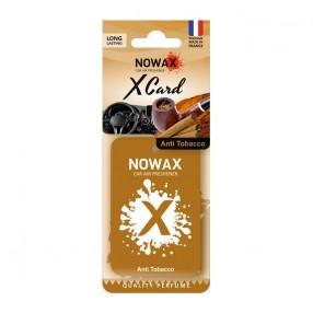 Ароматизатор на зеркало NOWAX X Card Anti Tobacco (NX07543)