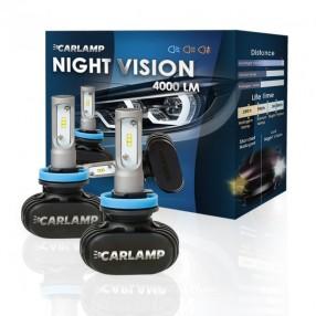 Светодиодные автолампы CARLAMP Night Vision H13 (NVH13)