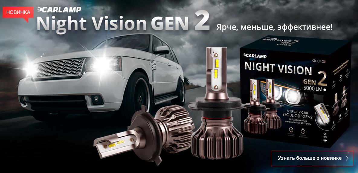 Светодиодные лампы нового поколения Carlamp Gen2